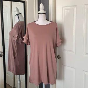Lush ruffle dress